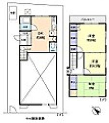 [一戸建] 千葉県船橋市高根台6丁目 の賃貸【/】の間取り