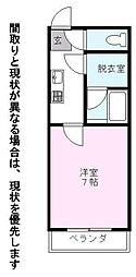 Nasu33[3階]の間取り