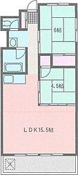SEAWIND津久井浜[2階]の間取り
