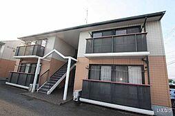 広島県福山市手城町3の賃貸アパートの外観