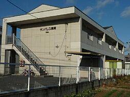 愛知県江南市尾崎町河原の賃貸アパートの外観