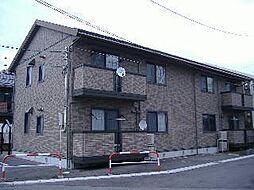 リビングタウン山王A[1階]の外観