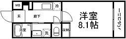 S-ROKUDOU[106号室]の間取り