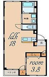 グランレーヴ東別院WEST[3階]の間取り