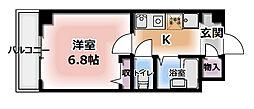 アーバンヨシダ 2[4階]の間取り