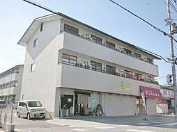 滋賀県草津市上笠3丁目の賃貸アパートの外観