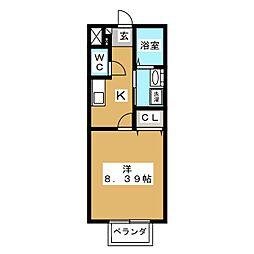 第10アーバンハイツ[2階]の間取り