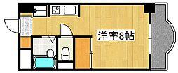 エミネンス隼人塚[6階]の間取り