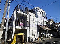 東京都目黒区鷹番2丁目の賃貸マンションの外観