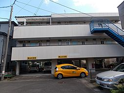 埼玉県草加市谷塚町の賃貸マンションの外観