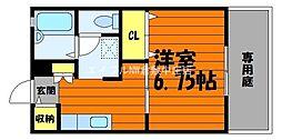 サンコート浜ノ茶屋[1階]の間取り