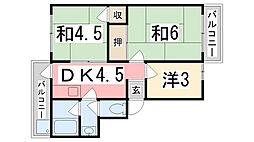 101マンション[407号室]の間取り