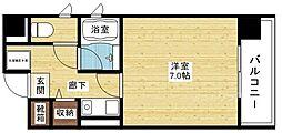 シャルマン新大阪[5階]の間取り