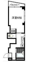 パレットハウス bt[301kk号室]の間取り