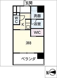 CELESTATION[10階]の間取り