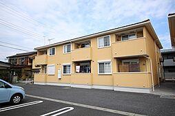 栃木県鹿沼市栄町1丁目の賃貸アパートの外観