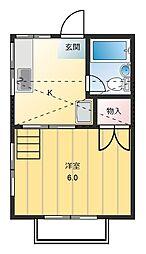 メゾン・ド・ミヤ[2階]の間取り