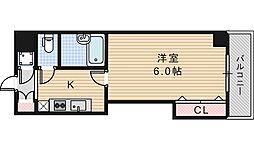 アパルト松崎[5階]の間取り
