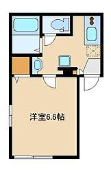 西武池袋線 東長崎駅 徒歩5分の賃貸マンション 4階1Kの間取り