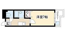 愛知県名古屋市昭和区前山町3丁目の賃貸アパートの間取り