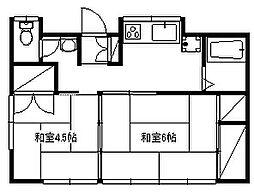 [一戸建] 神奈川県藤沢市辻堂元町2丁目 の賃貸【/】の間取り