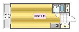 大国町池田マンション[2階]の間取り