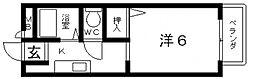 メゾンクレールS[A102号室号室]の間取り
