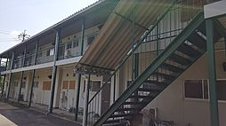 岡山県岡山市南区築港緑町2丁目の賃貸アパートの外観