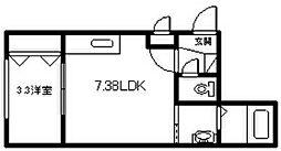 新築 2−10MS[205号室]の間取り