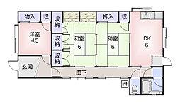 [一戸建] 三重県松阪市東町 の賃貸【/】の間取り