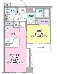 東急ドエル・アルス横濱元町[3階]の間取り