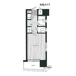 ダイナコート大濠III[6階]の間取り