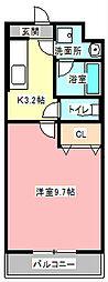 マンションarroz[1階]の間取り
