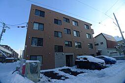 北海道札幌市西区八軒七条東5の賃貸マンションの外観