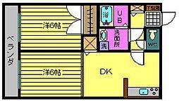 セイシェルハイム11[2階]の間取り