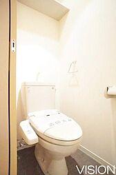 ビジュノーブルのシンプルなトイレ