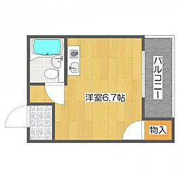 YTマンション[5階]の間取り