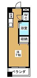 大久保ビル[2階]の間取り