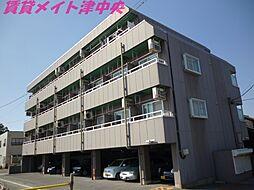 三重県津市白塚町の賃貸マンションの外観