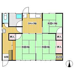 [一戸建] 長野県長野市大字南堀 の賃貸【/】の間取り