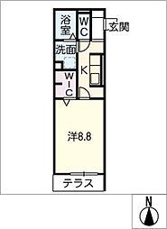 仮)D−room曙[1階]の間取り