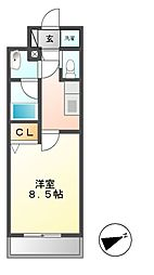 コンフォリア新栄[6階]の間取り