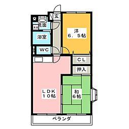 グレースジョイ[3階]の間取り
