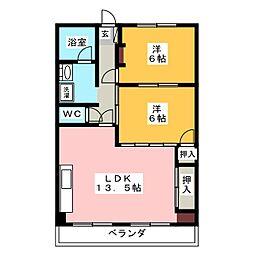 Ark Villa[2階]の間取り