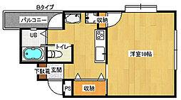 ハイステージ丸和[2階]の間取り