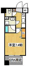 グリフィン横浜・プライムスクエア[3階]の間取り