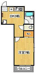 グランパティオ[2階]の間取り