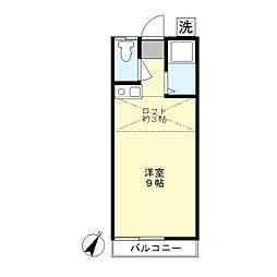コーポ平井[2階]の間取り