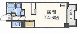 スカイパレスN18[6階]の間取り