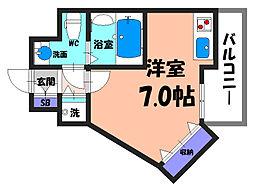 大阪府堺市北区金岡町の賃貸マンションの間取り
